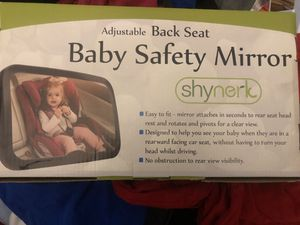 Baby car seat mirror for Sale in Indianapolis, IN