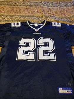 Emmitt Smith Jersey Size 54 Blue And White for Sale in Riverdale,  GA