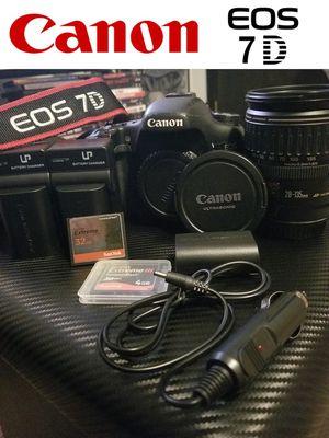 Canon 7D Camera Kit Lot Package Bundle DSLR Set for Sale in Oak Lawn, IL