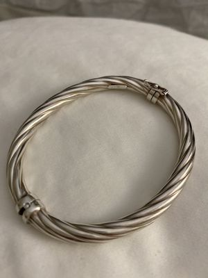 Silver Cable Bracelet for Sale in Las Vegas, NV
