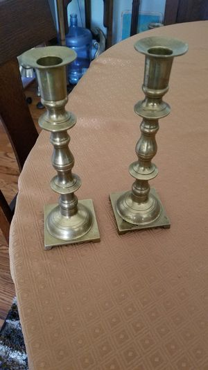 Brass candle holders for Sale in Saint Charles, MO