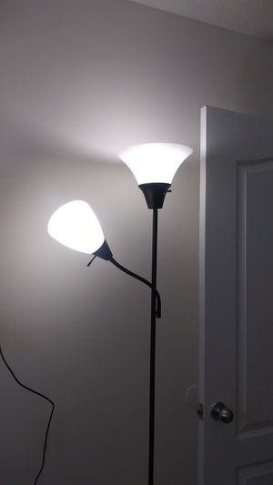 Floor lamp with two . Brand new. for Sale in Miami Gardens, FL