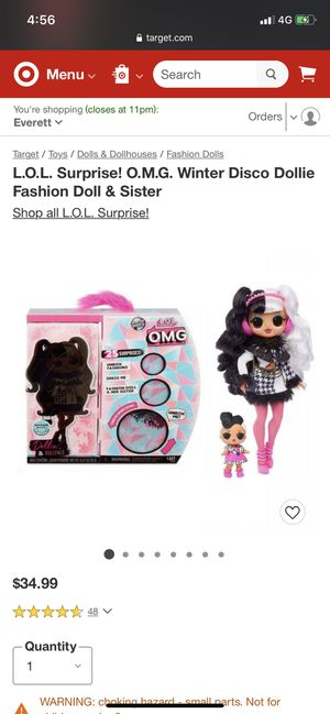 Brand new Lol omg winter Fashion doll for Sale in Joint Base Lewis-McChord, WA