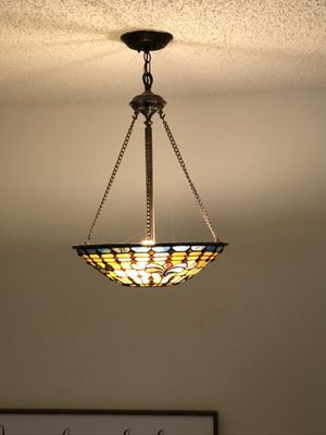 Tiffany Style Light Fixture for Sale in Oregon City, OR