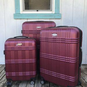 "Luggage set 30"" 26"" 20"" carry on suitcase maletas travel bag back pack vanity makeup bag for Sale in Jurupa Valley, CA"