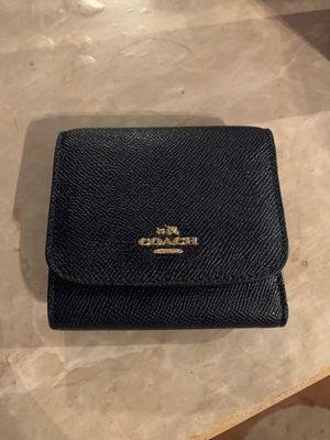 Navy blue coach wallet for Sale in Riverside, CA