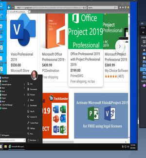 MICROSOFT OFFICE 2019 PRO W/ PROJECT & VISIO (LIFETIME ACTIVATION) for Sale in San Antonio, TX