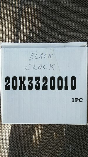 Brand new Black quartz office desk Clock for Sale in Las Vegas, NV