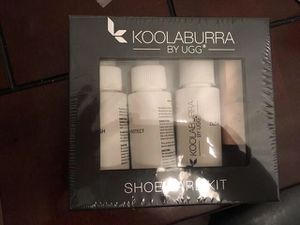Brand New for sale  Box Koolaburra by Uggs shoe care kit for Sale