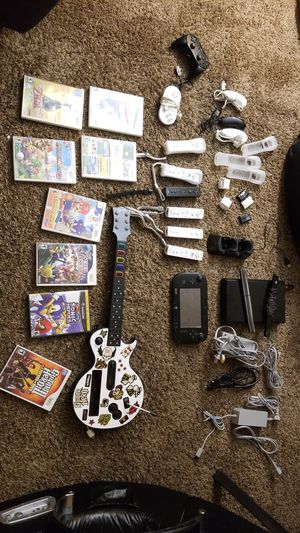 NINTENDO WII U AND SEVERAL EXTRAS for Sale in Fresno, CA
