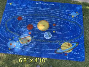 Solar system learning rug for Sale in Fresno, CA