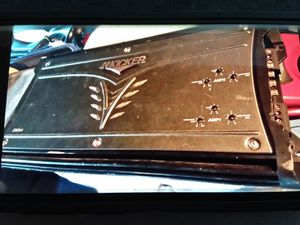 Kicker car amp. (As is) for Sale in Kearns, UT