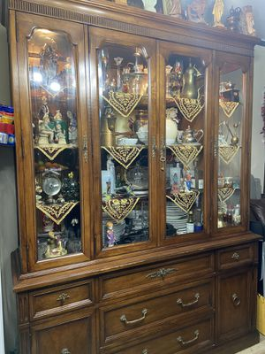 Antique china cabinet for Sale in Seattle, WA