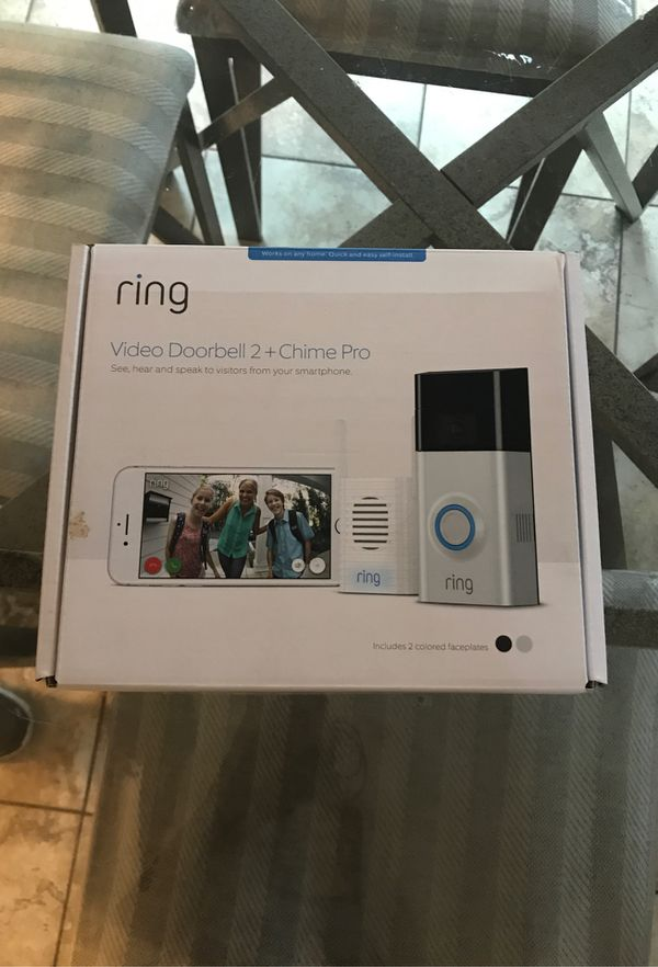 Brand new , Never used ring doorbell