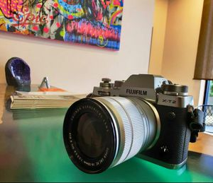 Fujifilm X-T2 Graphite Silver + Takumar 55mmF1.8 manual focus lens (with adapter) + camera bag for Sale in Los Angeles, CA