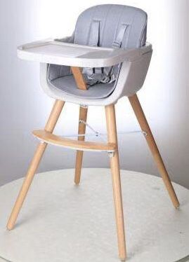 NEW IN BOX Joy Baby 3 in 1 Grace Timber Highchair Baby Table High Seating Chair With Safety Belt for Sale in Los Angeles, CA