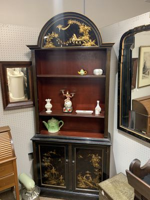 Oriental hutch display cabinet for Sale in Beaver Falls, PA