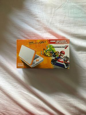 Nintendo 2Ds XL Bundle With 3 Games And Case for Sale in Dearborn Heights, MI
