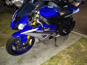2015 Yamaha YZFR6 clean title in hand tags 2021 for Sale in Garden Grove, CA