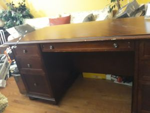 Desk is free. Chair is $20... for Sale in Trenton, NJ