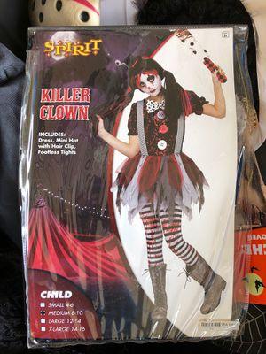 Killer clown Halloween costume for Sale in Cutler Bay, FL