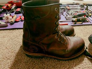 RED WING STEEL-TOE BOOTS for Sale in Atlanta, GA