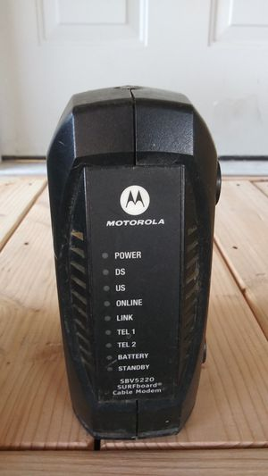 Motorola sbv5220 surf board cable modem for Sale in Los Angeles, CA
