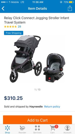 Graco jogging stroller travel system for Sale in Las Vegas, NV