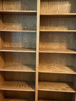 Solid Oak Bookshelf for Sale in Buckley,  WA