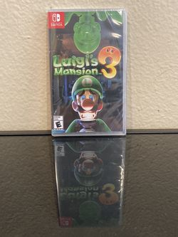 Luigi's Mansion 3 - Nintendo Switch (New & Sealed) for Sale in Brea,  CA