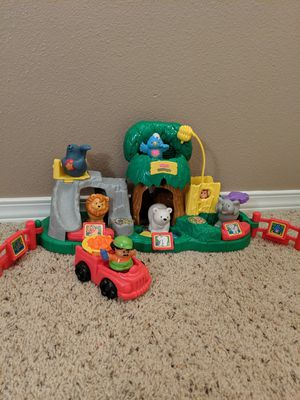 Little People Animal Sounds Zoo Set Fisher Price for Sale in Bonney Lake, WA