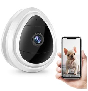Wireless Security Camera, Full HD Pet Monitor Camera, WiFi Indoor IP Surveillance Camera with Motion Detection, Two Way Audio Vision, Home Baby Camera for Sale in San Jose, CA