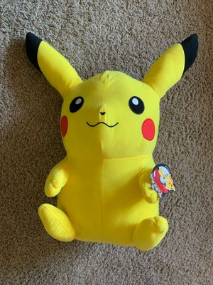 Big Pokémon stuffer animal perfect for gamers or Pokémon lovers! for Sale in Santa Maria, CA