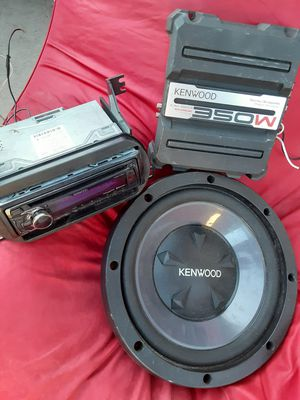 Kenwood Sound System for Sale in West Covina, CA