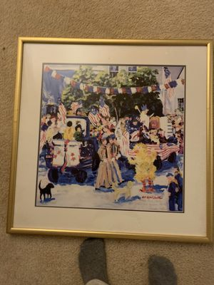 Nell Revel Smith original signed framed painting for Sale in Leland, MI