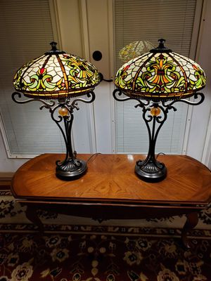 ANTIQUE ROADSHOW LIGHTS BY DALE TIFFANY INC. for Sale in Grove City, OH