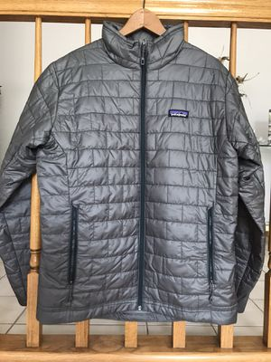 NEW Patagonia Nano Puff Mens Medium Cave Grey NEW WITH TAGS for Sale in Park Ridge, IL