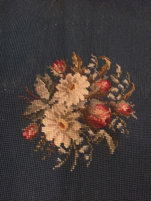 Antique needlepoint crewel floral - great colors for Sale in Buckeye, AZ