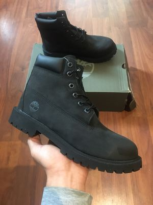 """6"""" Premium Timberland Black Size 7 Men's for Sale in Oakland, CA"""