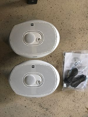 Dual HP Marine speakers / boat or pontoon for Sale in Goodyear, AZ