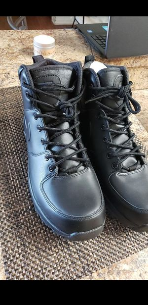 Nike Manoa leather boots for Sale in Tampa, FL