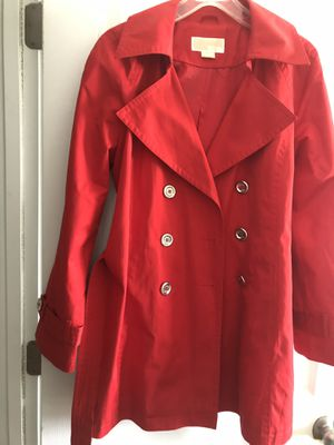 Michael Kors Red Trench for Sale in Wake Forest, NC