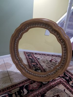 Solid wood mirror for Sale in Riverdale, MD