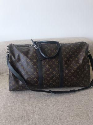 Louis Vuitton Keepal travel bag 55 AUTHENTIC for Sale in Seattle, WA