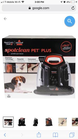 BISSELL SPOTCLEAN PET PLUS VACUUM for Sale in Corona, CA