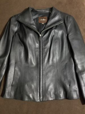Cole haan lambskin leather jacket for Sale in Phoenix, AZ