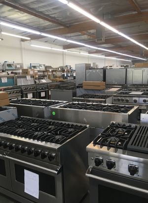 Warehouse full high end luxury appliances Save up to 40% off retail for Sale in Los Angeles, CA