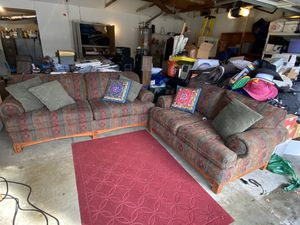 Craftsman sofa and love seat for Sale in Anaheim, CA