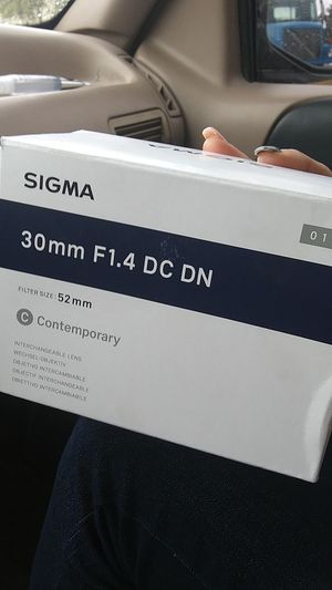 Sigma 30 mm f1.4 dc dn NEW! for Sale in Imperial Beach, CA