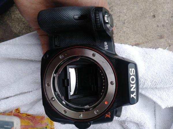 Sony alpha DSLR-SLT-A55 Digital camera W / 18-55 mm lens